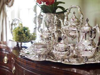 The history of sterling silver tea set
