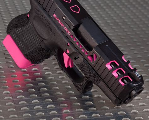 Possibly the only pink gun id own