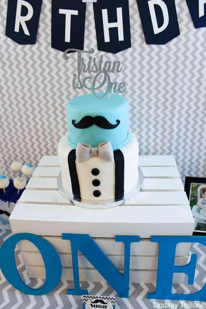 Mustaches Little Man Birthday Party Ideas Photo 16 Of 20 Little Man Birthday Party Ideas Little Man Birthday Baby Boy 1st Birthday Party