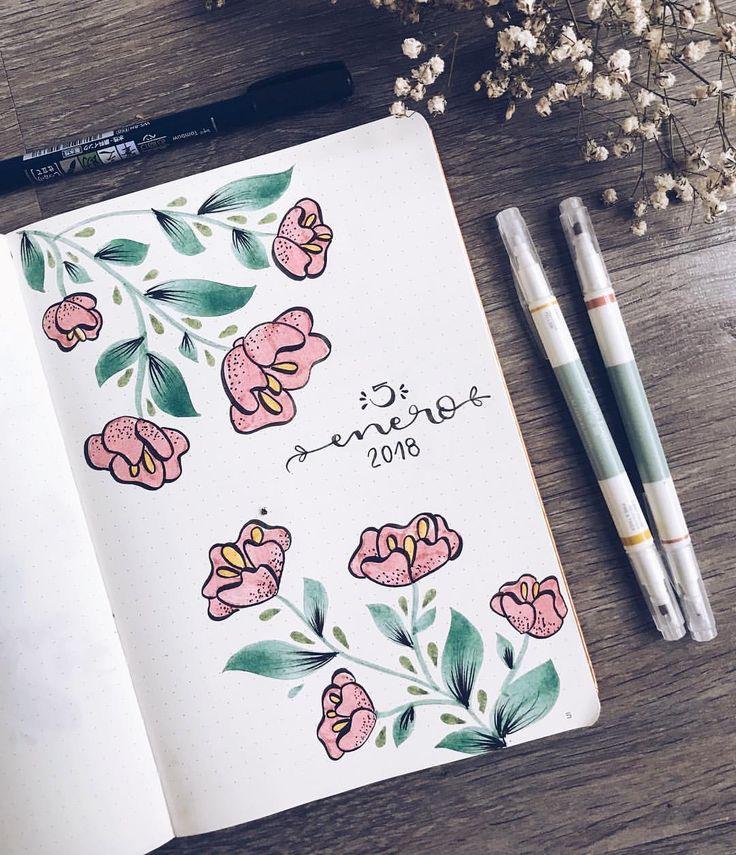 """3,900 Likes, 49 Comments - ~ Lettering & Bullet Journal ~ (@the_flower_journal) on Instagram: """"Desde que me convertí en """"paje real"""" el 5 de enero es mi día favorito del año. El 6 mola, pero la…"""""""