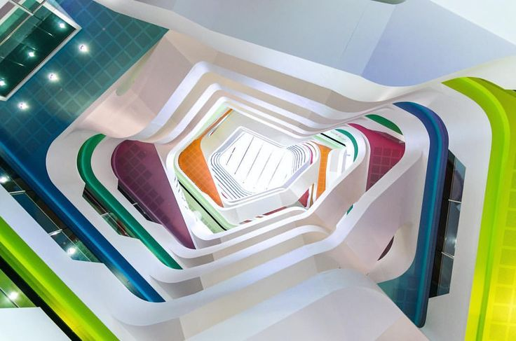 Inside of Medibank in Melbourne, Australia