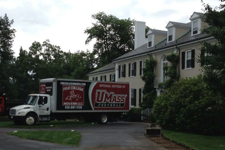 #StressFreeMoving at the Presients House on the Campus of Smith College in Northampton, MA