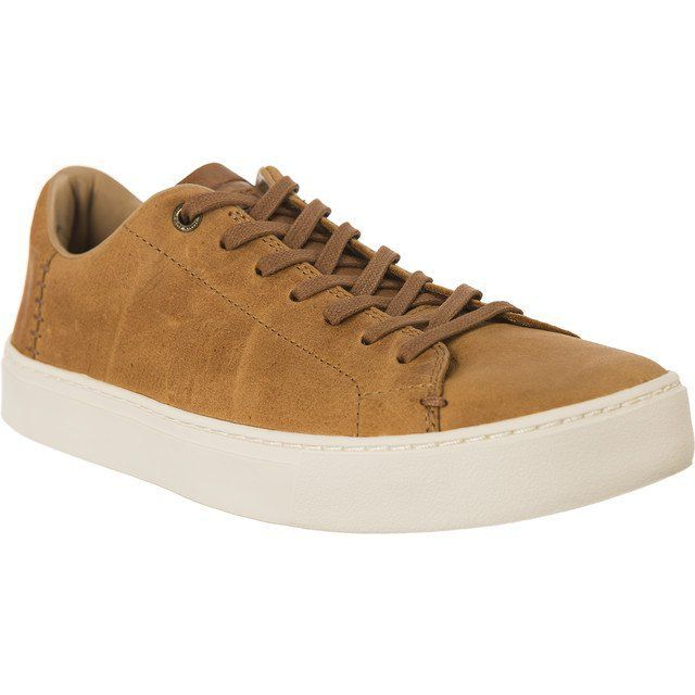 Trampki Meskie Toms Brazowe Toms Pull Up Leather Mens 864 Toms High Top Sneakers Leather Top Sneakers