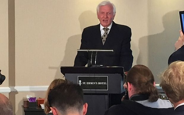 Ex-Tory MP Harvey Proctor condemns 'homosexual witch hunt' as he reveals police have questioned him over shocking allegations -- 'I am sorry to have to disappoint the fantasists on the Internet, but I did not visit the Elm Guest House', blaming police for being 'egged on by motley crew of some press, some MPs and ragbag of Internet activists'