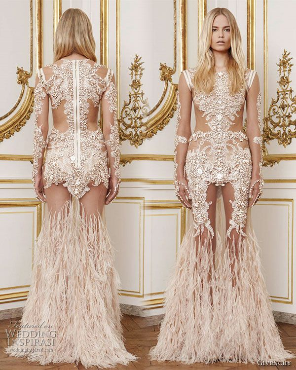91 best images about Givenchy on Pinterest | Lace, Feathers and A lady