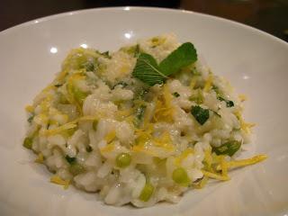 Excellent-eten.nl: Jamie's risotto met asperges, citroen en munt