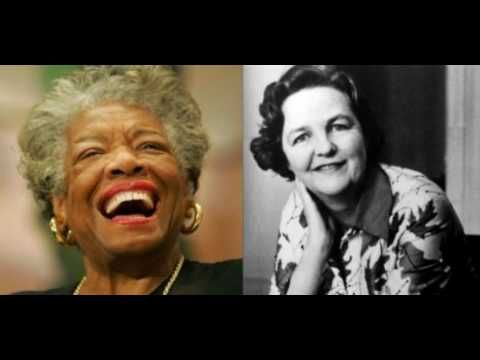 Jessica Mitford and Maya Angelou - Right, Said Fred - YouTube