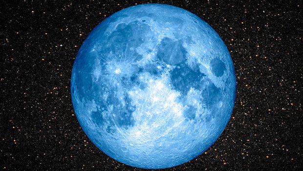 'Mavi ay' büyük bir merakla bekleniyordu