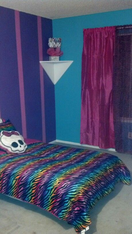 17 Best Images About My Monster High Themed Bedroom On