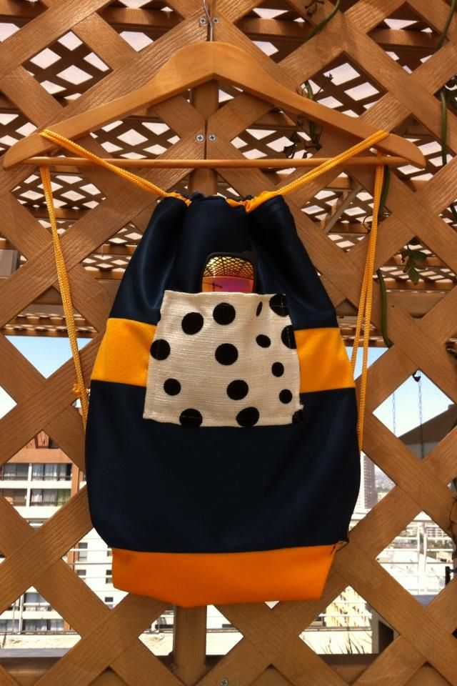 Bolso playero DISPONIBLE #One #Bags #hechoenchile