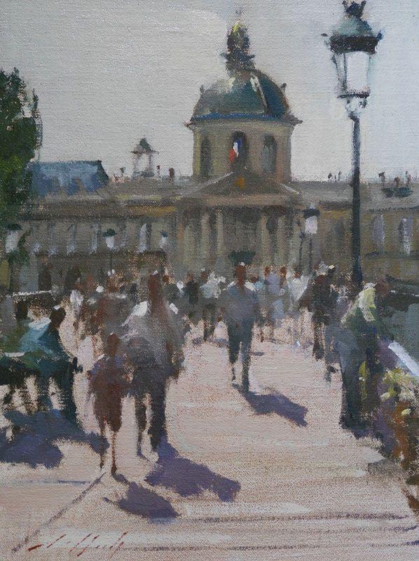 Paul Rafferty   (40) June Pont Des Arts