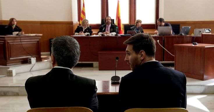Leo and Jorge Messi gave evidence in a Barcelona court today