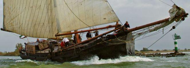 Zeilen met Eilandhopper. Hop van Waddeneiland naar Waddeneiland met een historische zeilklipper.