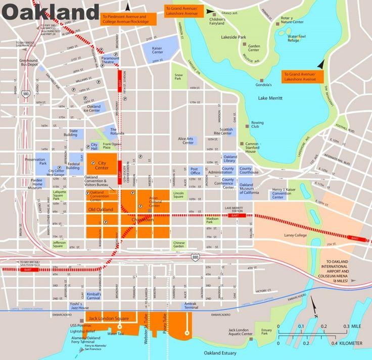 The Best Oakland Map Ideas On Pinterest Oakland City San - Downtown london map