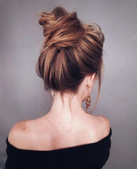 49 Trendy Chic Updos Ideas For Medium Length Hair Hair Pinterest