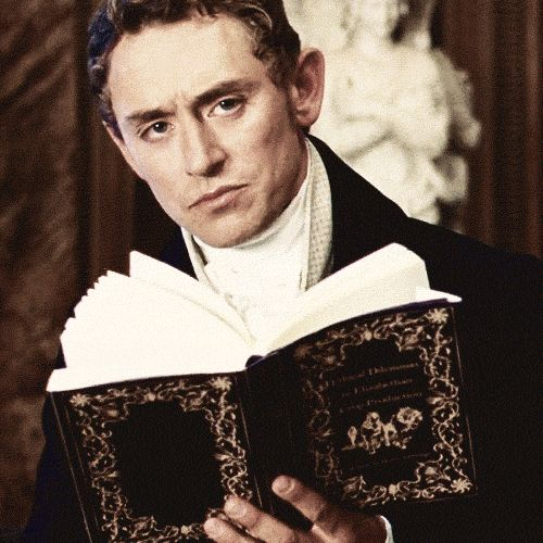 Austenland. I haven't seen this movie yet, but this is how I feel when someone tries to interrupt my reading!
