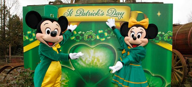 Disney st patrick 39 s day backgrounds overview luck of - Disney st patricks day images ...