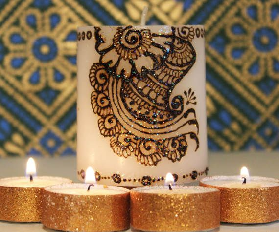 Henna Party Gifts : Best candles and wedding decor gifts images