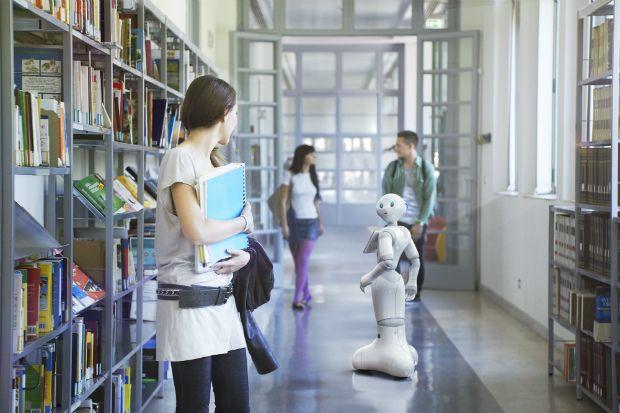Le robot Pepper, champion de l'interaction (D.R.)