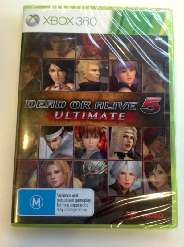 Dead Or Alive 5 Ultimate (RARE AUSTRALIAN EDITION!!!!) NEW PAL game for Xbox 360 - http://video-games.goshoppins.com/video-games/dead-or-alive-5-ultimate-rare-australian-edition-new-pal-game-for-xbox-360/