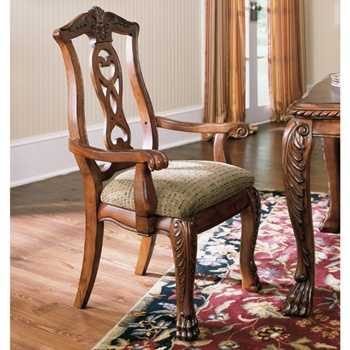 Pheasant run arm chairs set of 2 by ashley furniture - Ashley furniture pheasant run bedroom set ...