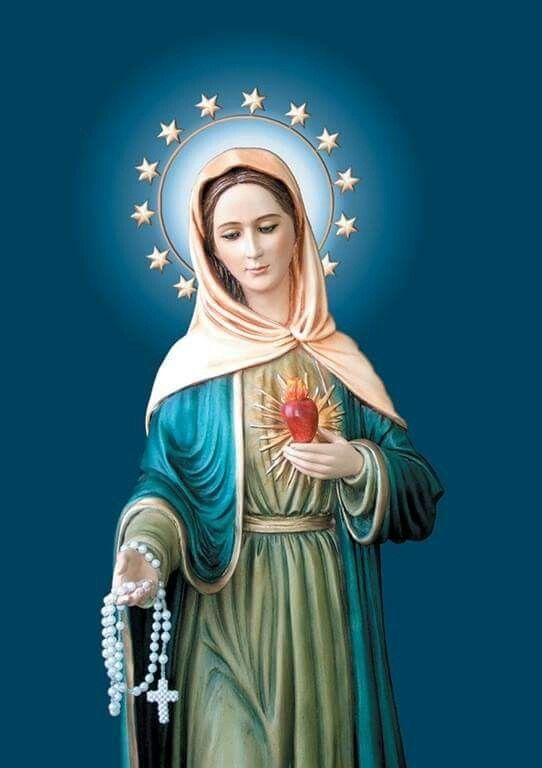 Virgen Maria de la Llama de Amor.  Movimiento de la Llama de amor del Inmaculado Corazón.