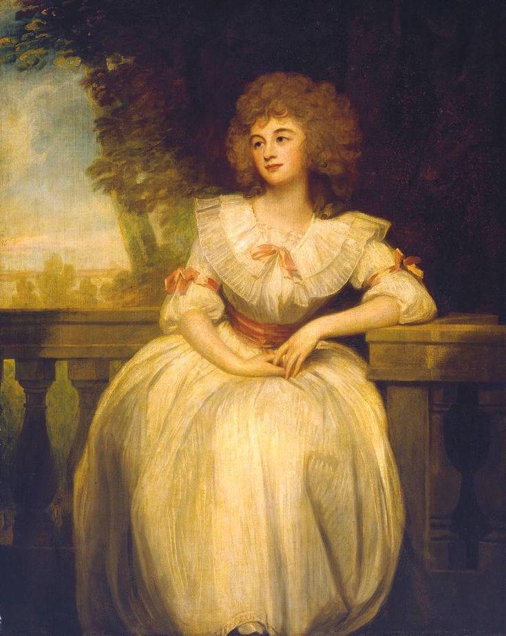Атенеум - миссис Карри Марк (Джордж Ромни -) 1789.