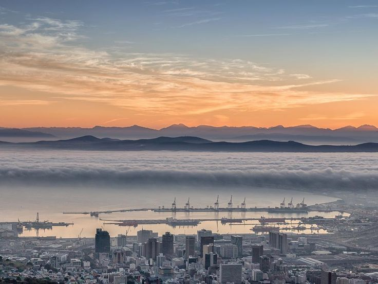 Cape Town's cloudy beauty on our Instagram. Image by @GreatGrampops