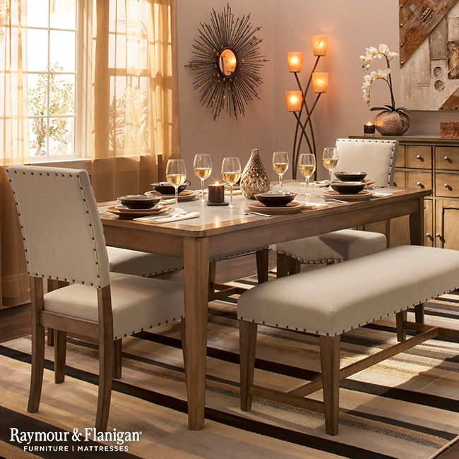 49 Best Dining Rooms Worth Repinning Images On Pinterest Fair Raymour And Flanigan Dining Room Set Review