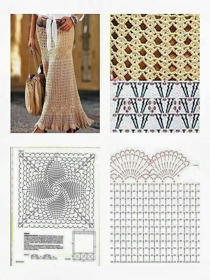 Falda y patrones