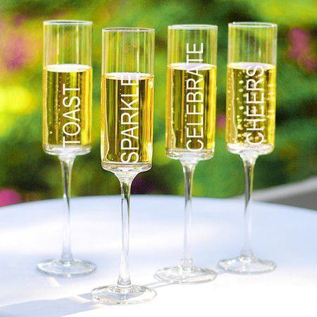 Found it at Wayfair - Celebrate! Champagne Flute (Set of 4)http://www.wayfair.com/daily-sales/p/Holiday-Dinnerware-Celebrate%21-Champagne-Flute~YCT2446~E14271.html?refid=SBP