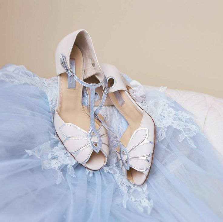 mimosa leather t bar wedding shoes by rachel simpson | notonthehighstreet.com