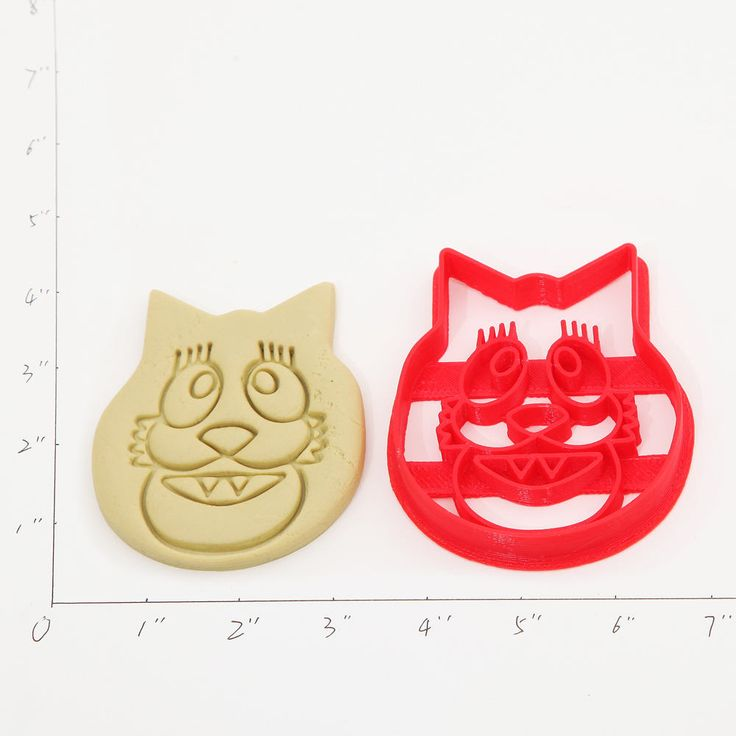Cookie Cutter Made From PLA Biodegradable Plastic Which Comes From Renewable Resources Like Cornstarch, Sugar Cane, Potato Starch, Etc.... -- Measurements-- The 4″size is shown. The other sizes are the same proportions. for the length of the cookie cutters: 2 inch, 3 inch,4 inch,5.5