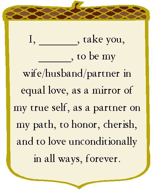 Wedding Vows Wednesday 11/21/13 | Lyssabeth's Wedding Officiants