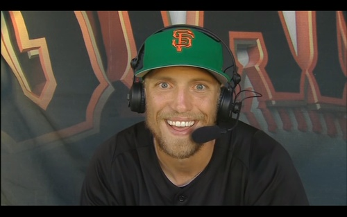 Hunter Pence you are so cute