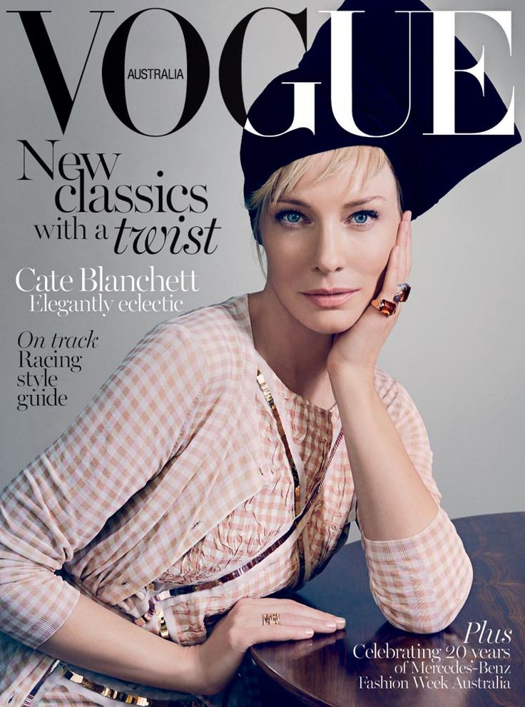 Cate Blanchett for Vogue Australia April 2015