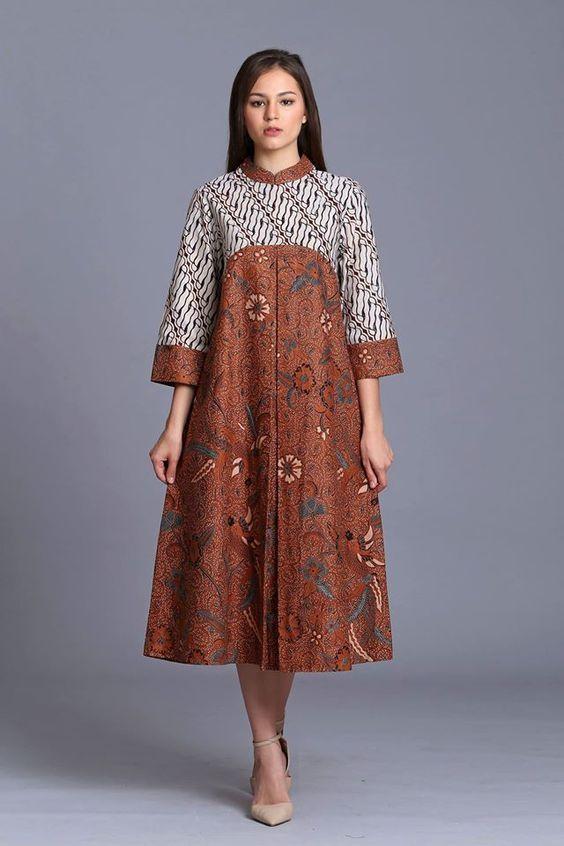 Model Baju Batik Sewing Batik Gaun Model Baju Wanita Dan Model