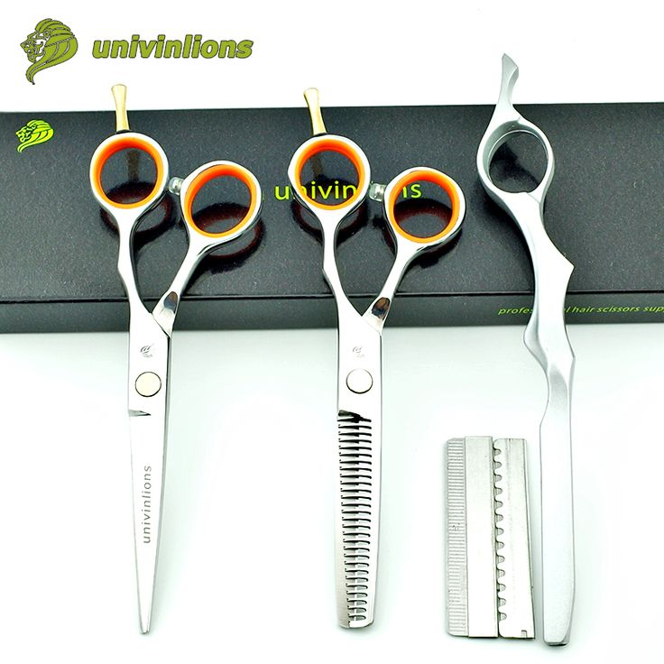 5.5 hair shears hairdressing kits hairstylist scissors haircut thinning shears barber scissors latest hair cut stainless sissors