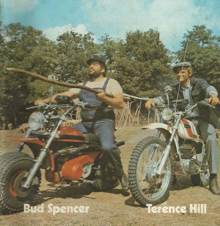 *-*Bud Spencer & Terence Hill bei Film pausen am Set   Bud Spencer ...