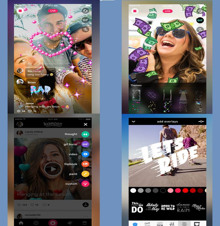 Best video editing app for iphone Kanvas Live Video Editor | Android Iphone App Collection