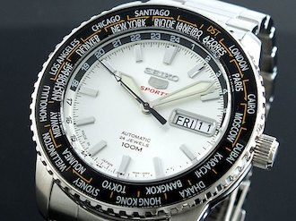 Seiko SEIKO Seiko 5 sports 5 SPORTS self-winding watch SRP123J1 direct
