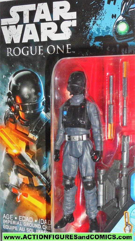 Disney Star Wars Rogue One Rebels Imperial Ground Crew Figure