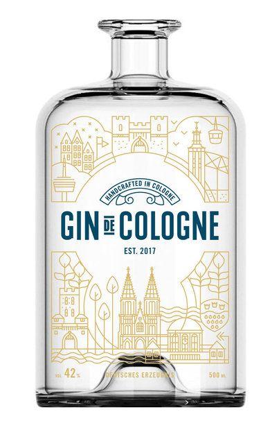 """Gin de Cologne"" aus Köln Ehrenfeld – 29,90 € / 0.5l"