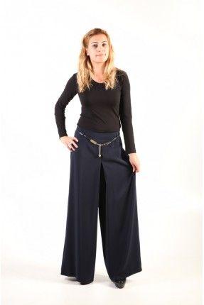 Seden Kemeri İpli Derili aksesuarlı Lacivert Pantolon Etek http://www.giyimdemoda.com.tr/Yeni-Sezon-Bayan-Pantolon-Modelleri