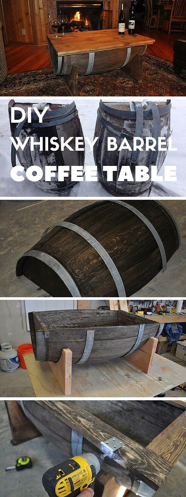 best 25 barrel coffee table ideas on pinterest whiskey barrel