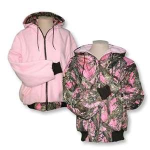 pink camo coats