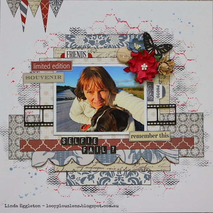 All About Scrapbooks Australia: Teresa Collins Far & Away by Linda Eggleton