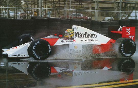 Ayrton Senna  McLaren - Honda  Phoenix 1990