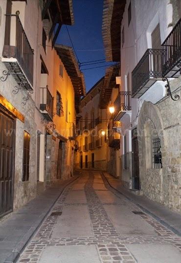 #Rubielos de Mora, #Teruel. #CaminodelCid