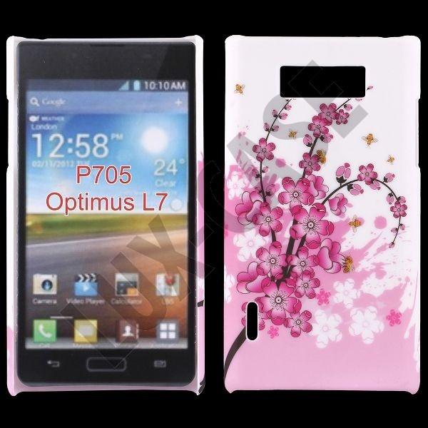 Valentine (Pink Flower) LG Optimus L7 Deksel